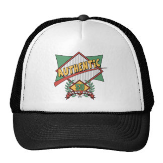 Authentic 50th Birthday Gifts Cap