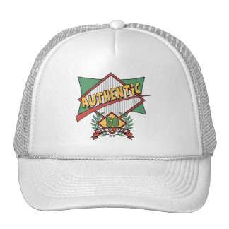 Authentic 50th Birthday Gifts Trucker Hat