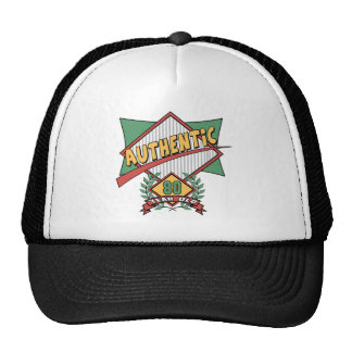 Authentic 80th Birthday Gifts Cap