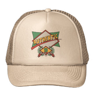 Authentic 9th Birthday Gifts Trucker Hat