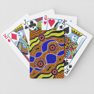 Authentic Aboriginal Art Bicycle Playing Cards