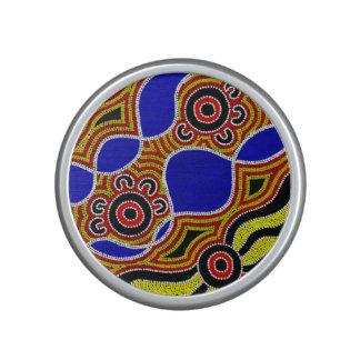 Authentic Aboriginal Art Bluetooth Speaker