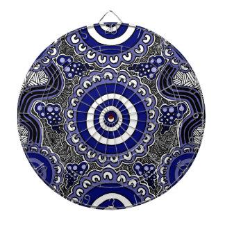 Authentic Aboriginal Art - Gathering Dartboard