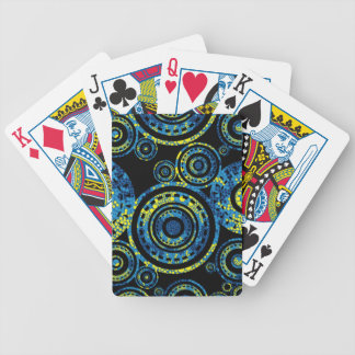 Authentic Aboriginal Art - Paisley Design Bicycle Playing Cards