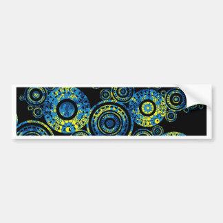 Authentic Aboriginal Art - Paisley Design Bumper Sticker