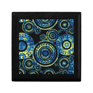 Authentic Aboriginal Art - Paisley Design Gift Box