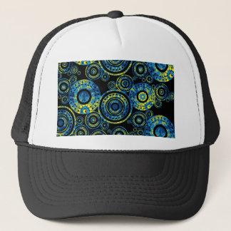 Authentic Aboriginal Art - Paisley Design Trucker Hat