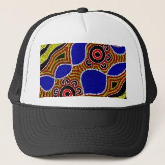 Authentic Aboriginal Art Trucker Hat
