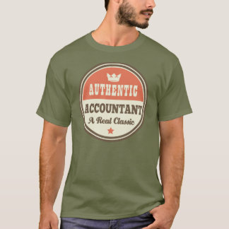 Authentic Accountant (Funny) Gift T-Shirt