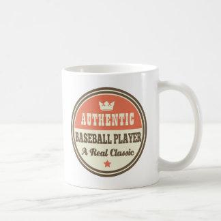 Authentic Baseball Player Vintage Gift Idea Mug