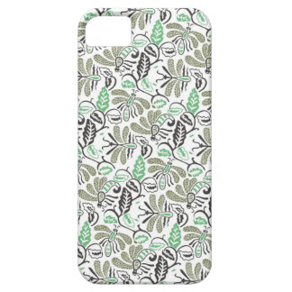 Authentic Batik Walang Green Pattern Case For The iPhone 5