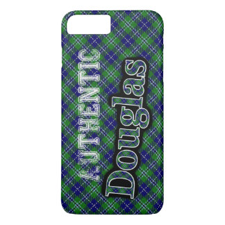 Authentic Clan Douglas Scottish Tartan Design iPhone 8 Plus/7 Plus Case