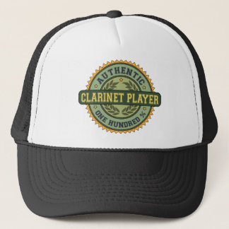 Authentic Clarinet Player Trucker Hat