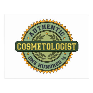 Authentic Cosmetologist Post Cards