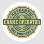 Authentic Crane Operator Sticker