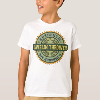 Authentic Javelin Thrower T-Shirt