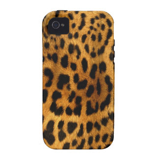 Authentic Leopard Fur Texture iPhone 4/4S Covers