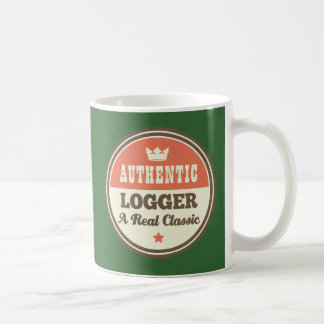 Authentic Logger A Real Classic Coffee Mug
