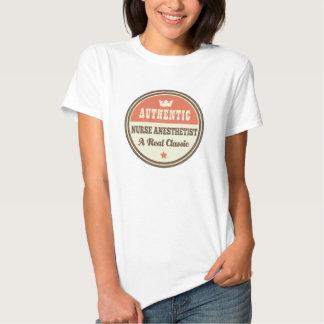 Authentic Nurse Anesthetist Vintage Gift Idea T Shirts