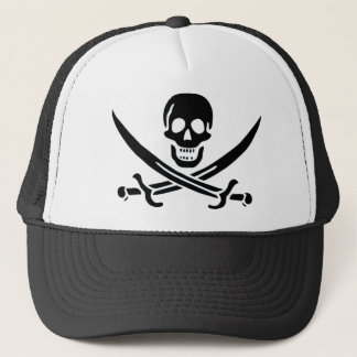 Authentic Pirate Flag of Jack Rackam Trucker Hat