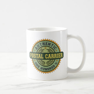 Authentic Postal Carrier Coffee Mugs