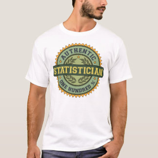 Authentic Statistician T-Shirt