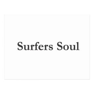 Authentic Surfers Soul Merchandise Postcard