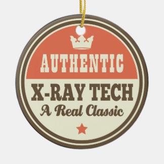 Authentic X-ray Tech Vintage Gift Idea Ceramic Ornament