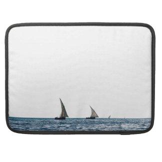 Authentic ZANZIBAR sailboats Sleeve For MacBooks