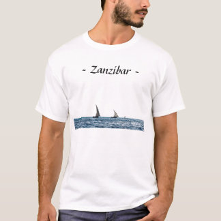 Authentic Zanzibar sailboats T Shirt (Men's)