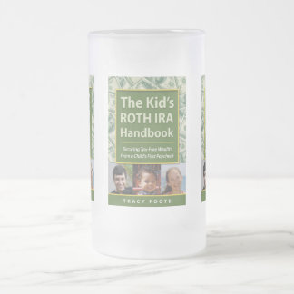 Author Book Title Promotion Frosted Glass Mug