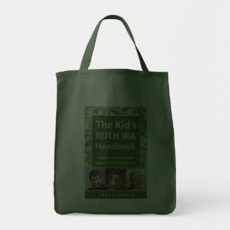 Author Book Title Promotion Grocery Tote Bag