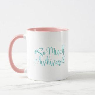 Author # Collection: So Much Awkward Coffee Mug
