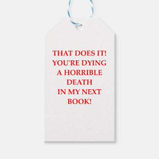 AUTHOR GIFT TAGS
