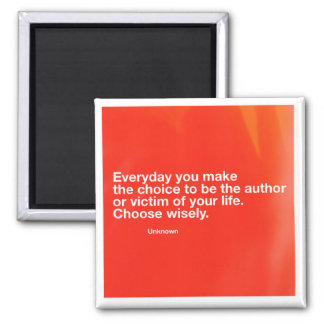 Author or Victim Motivational Magnet