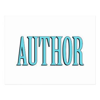 Author Postcard