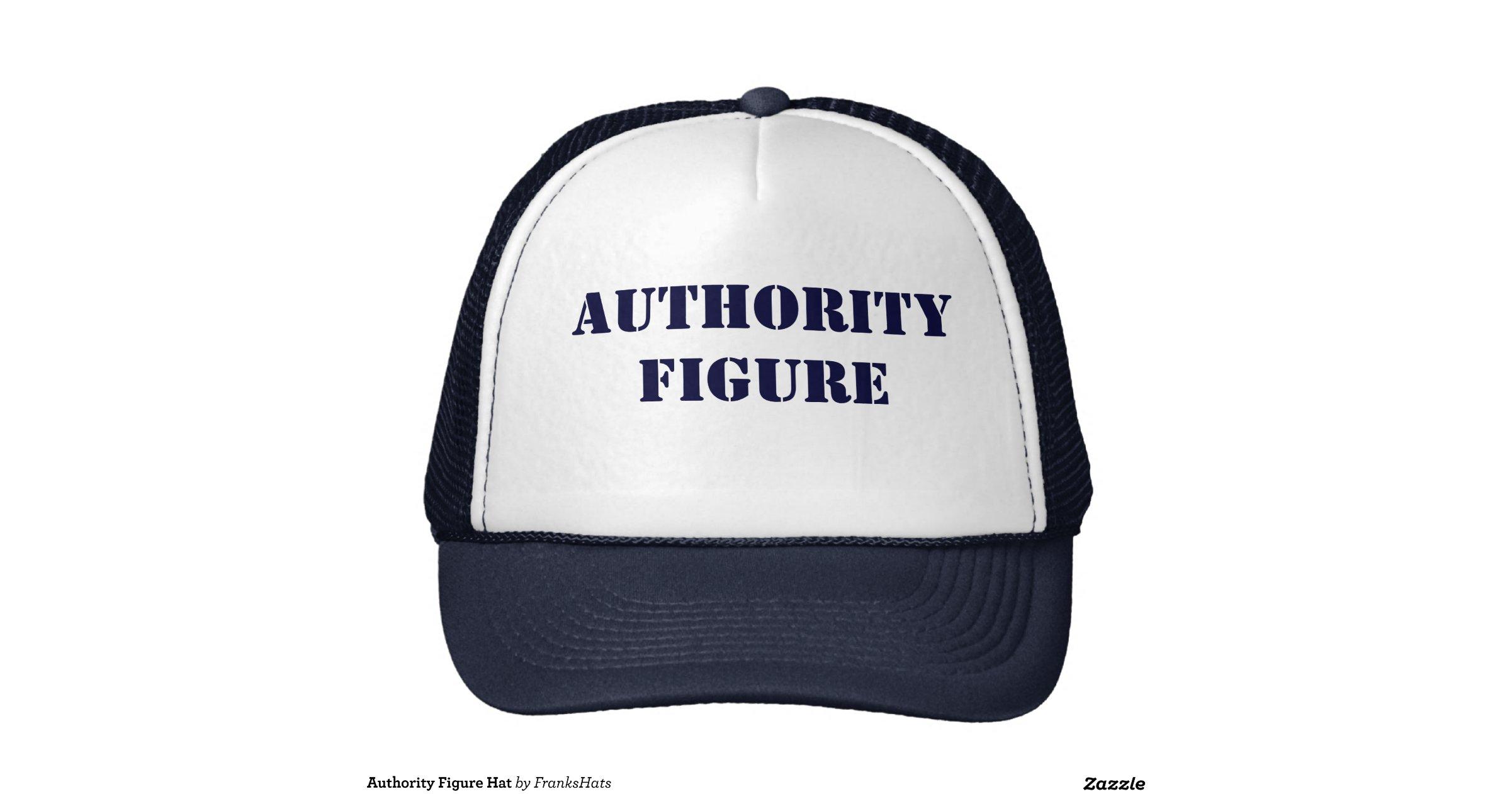 Authority Figure Hat | Zazzle