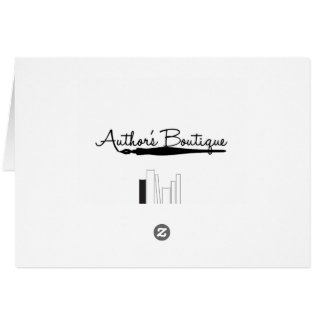 Authors Boutique Paper Products Greeting Card