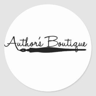 Authors Boutique Paper Products Round Sticker