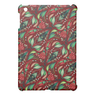 Autimn floral rustic beautiful stylish pattern iPad mini covers