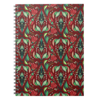 Autimn floral rustic beautiful stylish pattern notebook