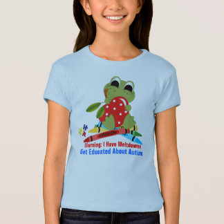 Autism#11  Girls' Fitted Bella Babydoll Shirt