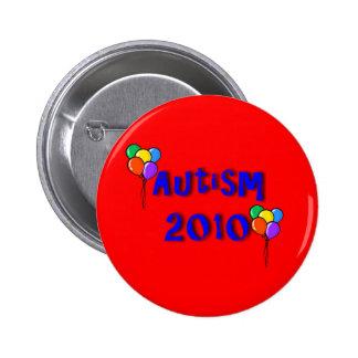 Autism 2010 Balloon Button