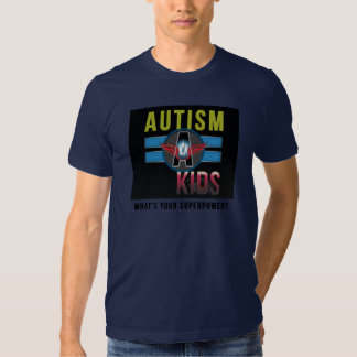 'Autism A Kids' Mens Basic American Apparel Tee* Tees