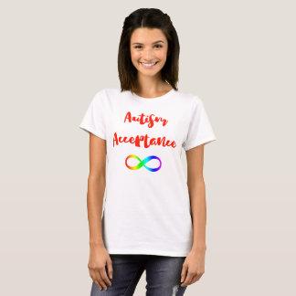 Autism Acceptance Infinity Symbol T-Shirt