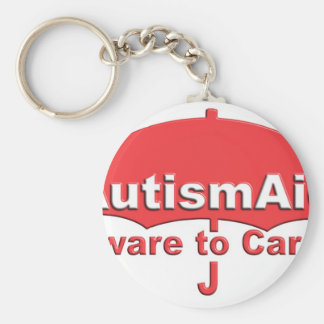 Autism Aid aware To care Key Chains