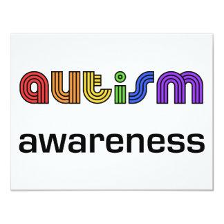 Autism Awareness! 11 Cm X 14 Cm Invitation Card