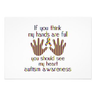 autism awareness announcement