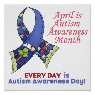 Autism Awareness April and Every Day Print