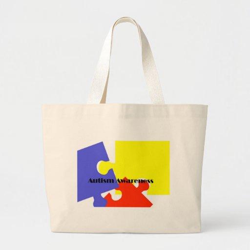 Autism Awareness Tote Bags